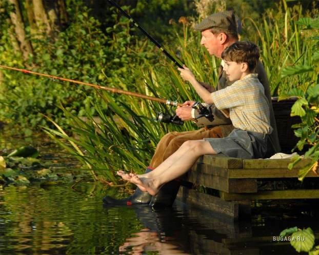 рассказ мы идем на рыбалку